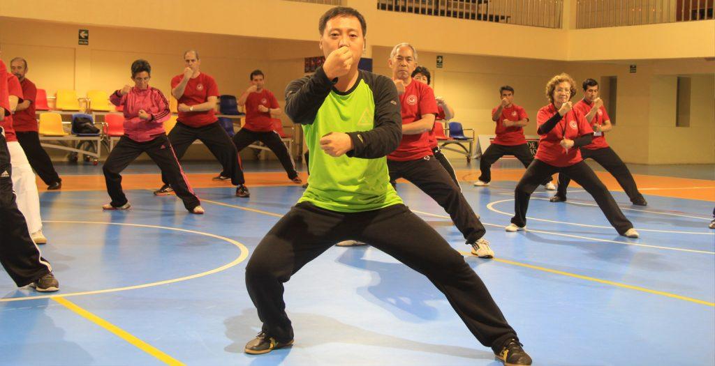 Taller del Gran Maestro Chen Bing Lima- Peru