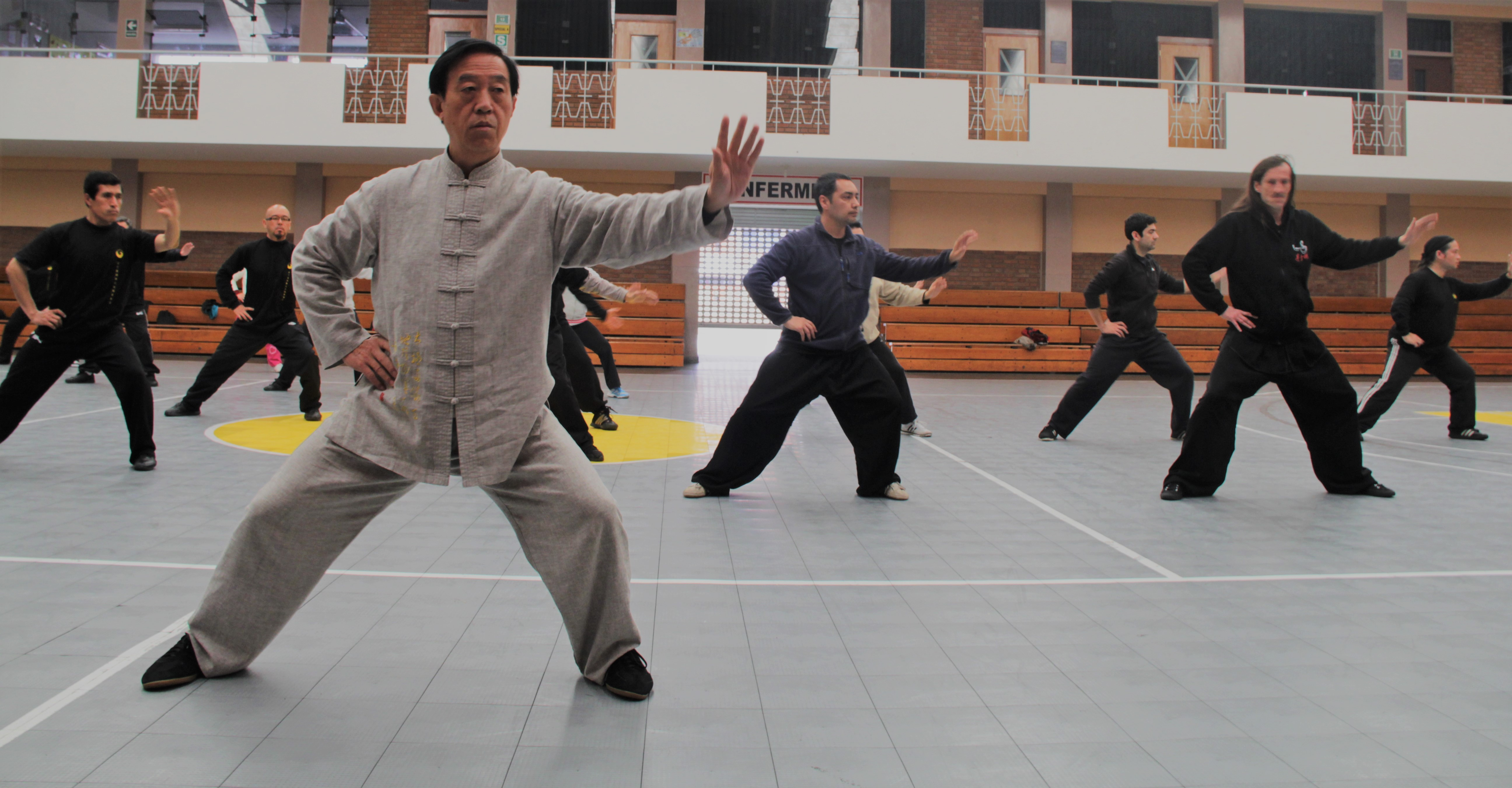 Gran Maestro CHen ZHenglei enseñando Chan SI jin