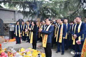 Chen Zhenglei liderando Romeria Chen Zhaopi