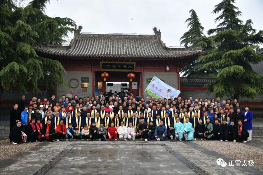GM Chen Zhenglie, familia, discípoulos, practicantes y entusiastas